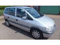 2004 Vauxhall Zafira 1.6 Petrol for spares or repair