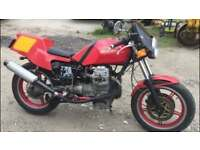 1991 Moto Guzzi 750cc, Full years MOT, new battery, starts and rides very well, located in Northflee