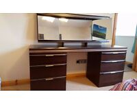Bedroom Furniture Set - Dressing table, Stool, and 2 x Chest of Drawers