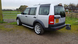 2005 Land Rover Discovery TDV6 Silver - 7 seater