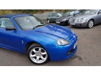 MG TF 1.6 Cool Blue ++MOT APRIL 17+JUST SERVICED++GREAT DRIVER ++6 MONTH WARRANTY INCLUDED