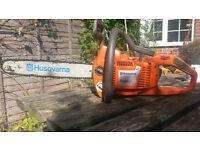 Husqvarna 339xp pro chainsaw