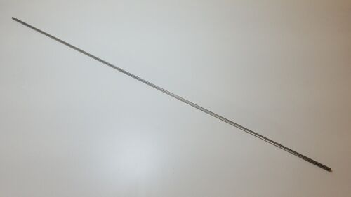 "304 Stainless Steel 1/4"" diameter, 36"" long rod, round bar"
