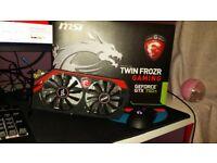 MSI NVIDIA GeForce GTX 750Ti (2048 MB) (N750TITF2GD5OC) Gaming Graphics Card