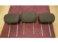 Ford Mondeo headrests - 2 back seat and 1 front seat head rest