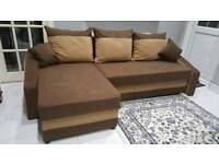 Beautiful Corner Sofa Bed. Brand New. Various colours. Was £750 now only £300. *Free Delivery*