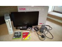 Xbox 360 + Logik 22'' Full HD LED TV
