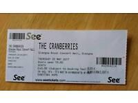 Cranberries Ticket Glasgow