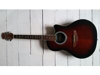 Ovation Celebrity Electro Acoustic Guitar CC057 with new soft padded case