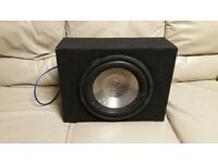 CAR SUBWOOFER DIAMOND AUDIO D112D2 12 INCH SPEAKER WITH ENCLOSURE BASS BOX SUB WOOFER