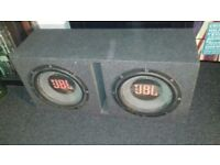 "15"" JBL SUBS in Brand New Sub Box"