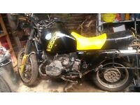 BMW R100GS, with panniers – stored for several years but in good overall condition