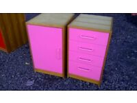 Drawer and cupboard units,