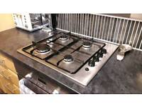 Zanussi Stainless Steel, Gas Cooker Hob