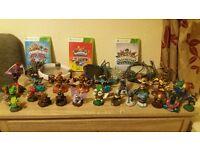skylanders bundle 28 figurs 3 games 1 bag