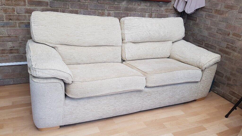 Miraculous Three Person Sofa In Waterbeach Cambridgeshire Gumtree Dailytribune Chair Design For Home Dailytribuneorg