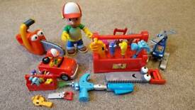 Disney Toys - Handy Manny and his tools