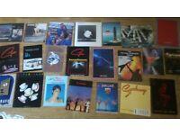 22 x tour programmes camel , gillan , rainbow , robert plant , dire straits ,bon jovi
