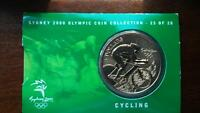 Sydney Olympic coin 25 of 28 cycling