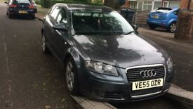 2005 Audi A3 Sport Tdi 5dr 2.0 Diesel Grey BREAKING FOR SPARES