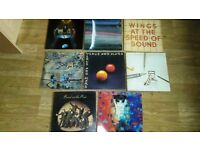 "34 x paul mccartney vinyls LP's / 12"" / 7"" / tour prog / ticket /"