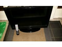 """24"""" LCD HD TV with dvd built in and freeview"""