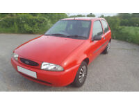 PART EX TO CLEAR! 1999 FORD FIESTA 1.3 FINESSE, 104,000 MILES, MOT TILL JUNE 2018, **£199**