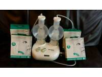 Ameda purely yours double electric pump