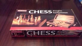 Chess,draughts and backgammon