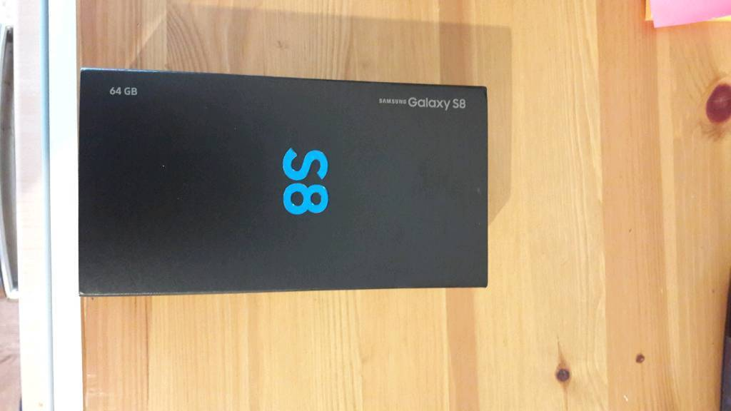 Samsung s8 brand new