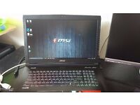 "MSI GE72 6QL APACHE 17.3"" Best Gaming Laptop Core i7-6700HQ, 25GB RAM, 1TB HDD, 128 SSD"