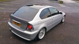 bmw 325ti Compact manual fully loaded