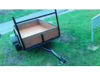 6ft 6 inch s bye 4ft wide car trailer