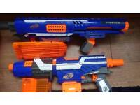 Nerf rampage and alpha trooper