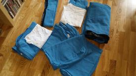 Cover Korndal Blue for Ikea Karstad sofa bed