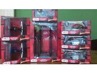 Disney Star Wars The Force Awakens Diecast Spaceships / Vehicle Collection