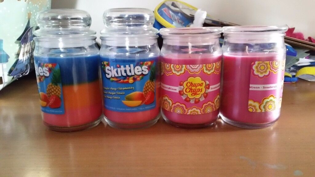Brand new candles £4 each