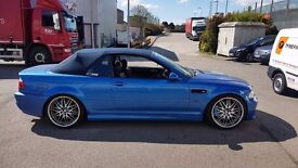 Bmw e46 M3 convertible with hardrop and lots of extras