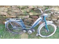 Vintage Retro French Peugeot 101 Moped Mobylette Restoration Project Quirky Fun