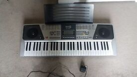 Rock jam keyboard great condition rarely used