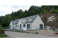 FOR SALE - New Build, 3 Bed House, Cannich, By Beauly, IV4 7LN