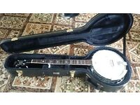 5-string Long Arm Banjo (Countryman Pro)