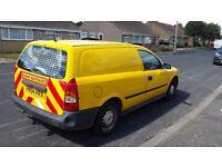 2004 astravan 1.7cdti with rear seats