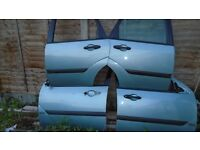 FORD FOCUS DOORS EACH 30/= 2004 ALSO PAIR OF H/LIGHTS 2 WINGS