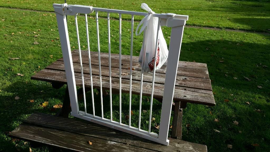 Baby gate. Stair gate.
