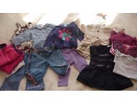Bundle baby girls clothes 6-9months