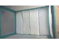 Baby Weaver Travel Cot and Mattress - Excellent Condition