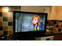 42 inch full HD 1080i flat tv, Freeview HD, free delivery, no offers