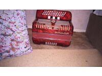 Stradella 3 row accordion
