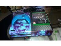 Xbox one with Skyrim SE plus pad